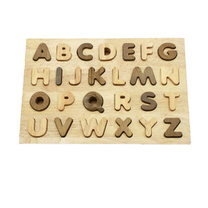 Two Toned Capital Letter Puzzle-Qtoys