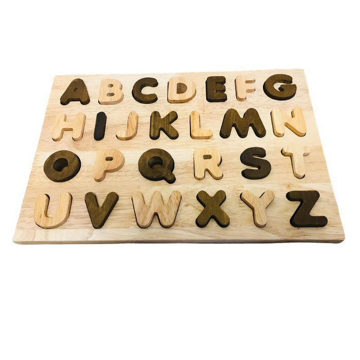 Two Toned Capital Letter Puzzle
