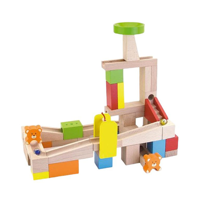 Viga Toys Wooden Marble Run