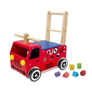 Walk and Ride Fire Engine Sorter-Im Toy
