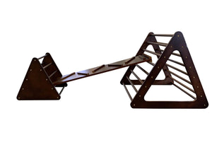 Walnut Climbing Frame Package-[product_vendor-My Happy Helpers