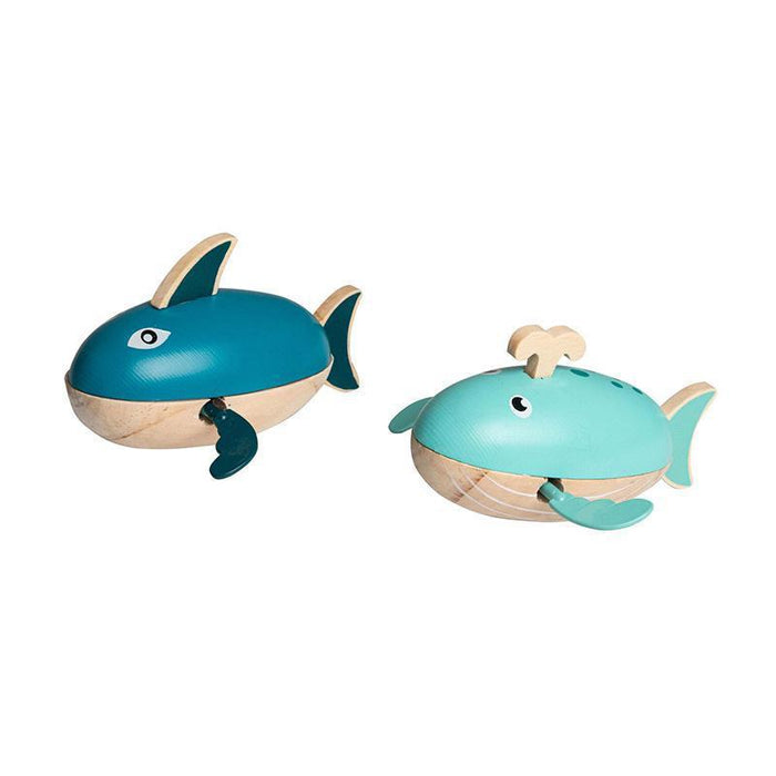 Water Shark And Whale Wind Up