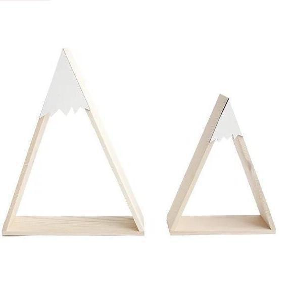 White Mountain Wall Shelves Set of 2-[vendor]-My Happy Helpers