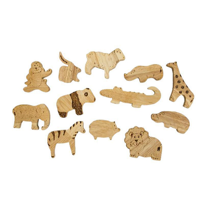 Wooden African Animals