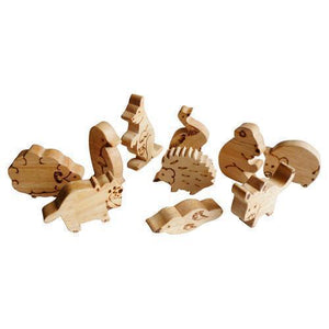 Wooden Australian Animal Set-[product_vendor-My Happy Helpers