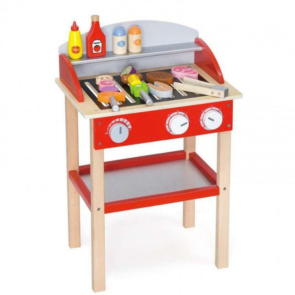 Wooden BBQ-Viga Toys-My Happy Helpers