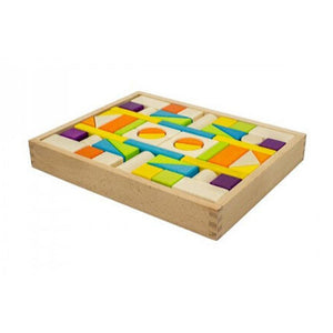 Wooden Blocks Tray (54 pieces)-[product_vendor-My Happy Helpers