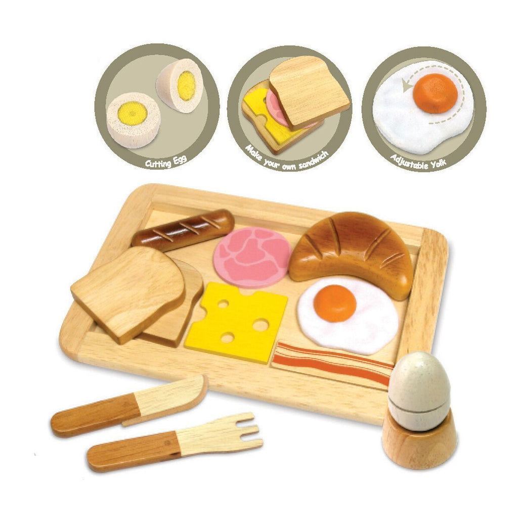 Wooden Breakfast Play Set-Im Toy-My Happy Helpers