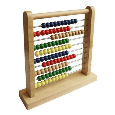 Wooden Children's Abacus-Fun Factory-My Happy Helpers