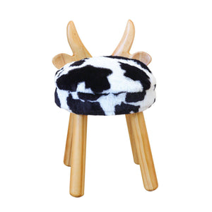 Wooden Cow Chair