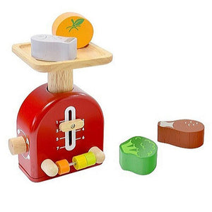 Wooden Food Scales for Toddlers