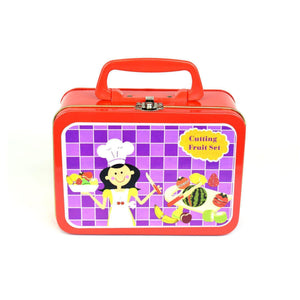Wooden Fruit Set in Gorgeous Tin Carry Case-[product_vendor-My Happy Helpers