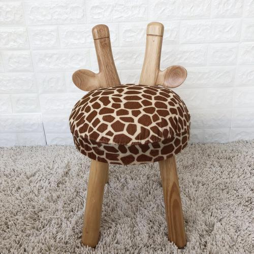 Wooden Giraffe Chair