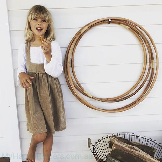 Wooden Hula Hoop-My Happy Helpers Pty Ltd