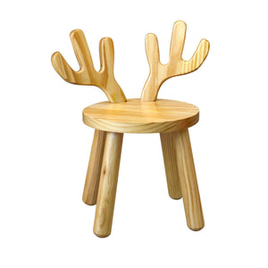 Wooden Moose Chair