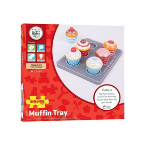 Wooden Muffin Tray-[product_vendor-My Happy Helpers