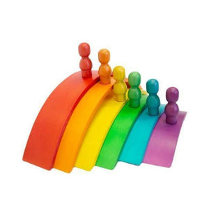 Wooden Rainbow Arch Set-[product_vendor-My Happy Helpers