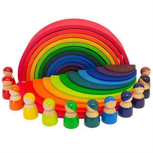 Wooden Rainbow Starter Pack