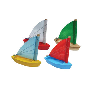 Wooden Sailing Boat-[product_vendor-My Happy Helpers