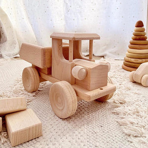 Wooden Tipping Truck - Ruby-Jasio