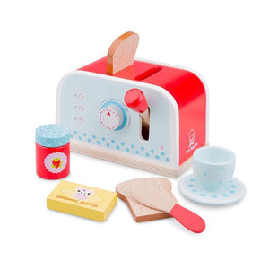 Wooden Toaster - Blue-Kids in the Kitchen-My Happy Helpers