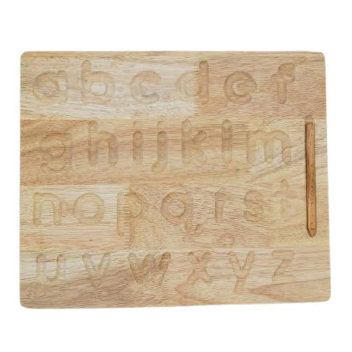 Wooden Tracing Board - Lower Case