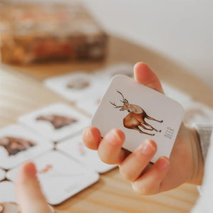Woodland Memory Card Game-Educational Play-My Happy Helpers