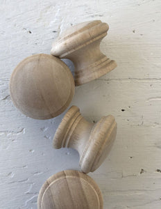 Wooden Knobs Large
