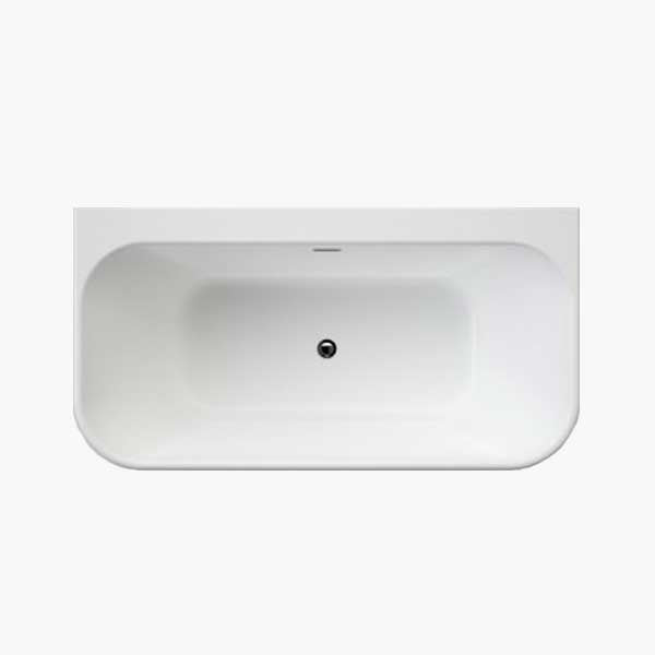 Baths back to wall freestanding online at The Blue Space