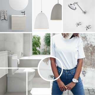 Basics bathroom and kitchen packages online at The Blue Space