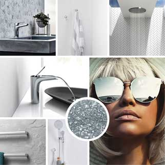 Chrome taps and accessories for your bathroom or kitchen at The Blue Space