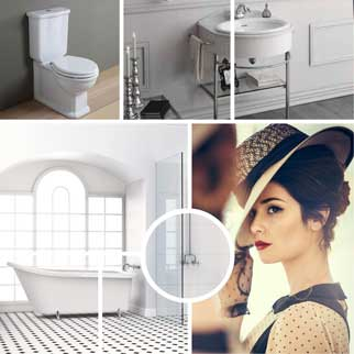 Classic bathrooms online at The Blue Space