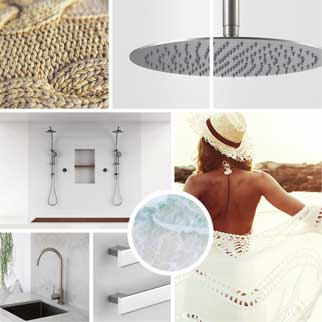 Coastal bathroom packages online at The Blue Space