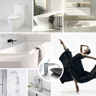 Contemporary bathroom packages online at The Blue Space