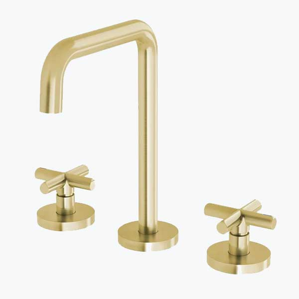 Taps-gold-brushed-brass-colour-thebluespace