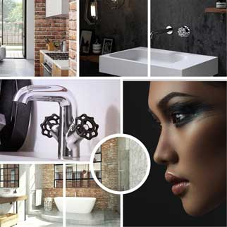 Industrial bathroom packages online at The Blue Space