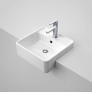 Buy Semi Recessed Bathroom Basins Online at The Blue Space