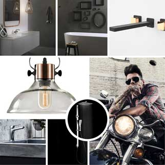 Shop the Steampunk bathroom and kitchen packages online at The Blue Space