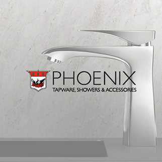 Phoenix Bathroom Taps, Showers and bathroom Accessories Online at The Blue Space