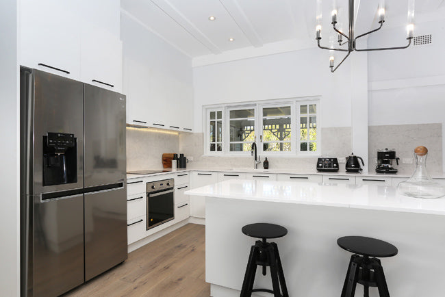 Selling Houses Australia, The Blue Space Kitchen Pymble, Polytec Venette