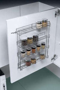Fernware Pull Out Kitchen Spice Rack