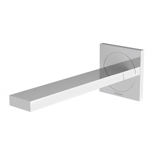 Phoenix Ortho Wall Basin/Bath Outlet 200mm - Chrome - The Blue Space