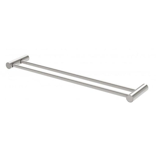 Phoenix Vivid Slimline Double Towel Rail - Brushed Nickel Online at The Blue Space
