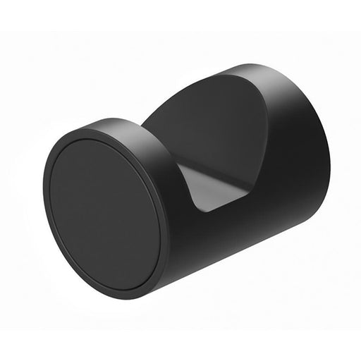 Phoenix Vivid Slimline Robe Hook - Matte Black - the blue space