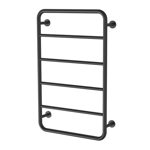 Phoenix Vivid Slimline Towel Ladder 800 x 500mm - Matte Black