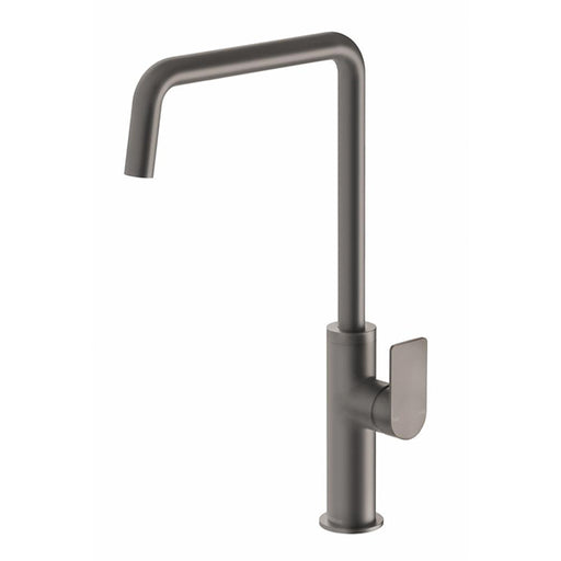 Phoenix Mekko Sink Mixer 190mm Squareline - Gun Metal online at The Blue Space
