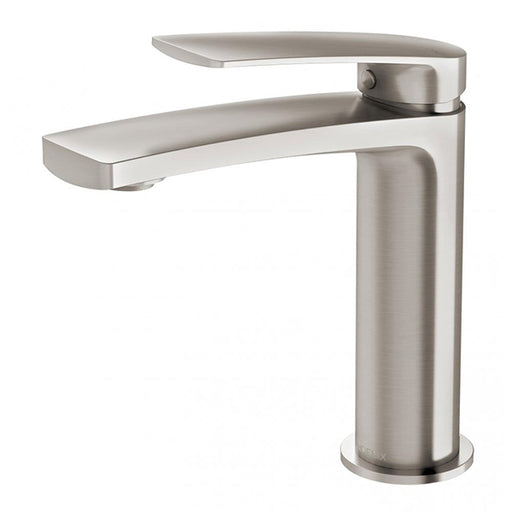 Phoenix Mekko Basin Mixer - Brushed Nickel online at The Blue Space