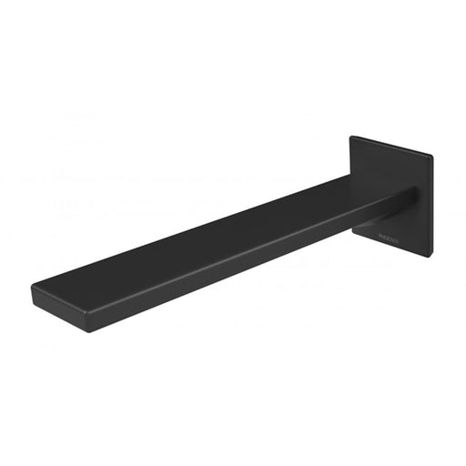 Phoenix Zimi Wall Bath Outlet 200mm - Matte Black online at the Blue Space