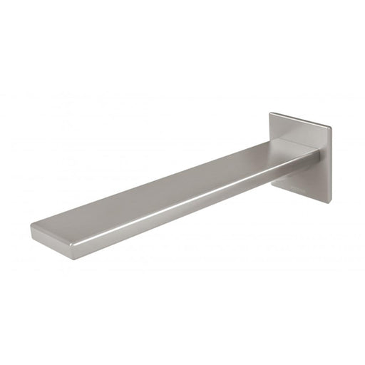 Phoenix Zimi Wall Basin Outlet 200mm - Brushed Nickel online at the Blue Space