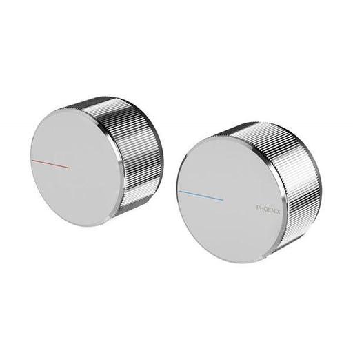 Phoenix Axia Wall Top Assemblies 15mm Extended Spindles Chrome Online at The Blue Space